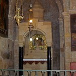 Altar of St Dismas in Chapel of St Helena (Seetheholyland.net)