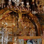 Twelfth Station: Greek Orthodox Chapel of the Crucifixion Twelfth Station: Greek Orthodox Chapel of the Crucifixion (Seetheholyland.net)