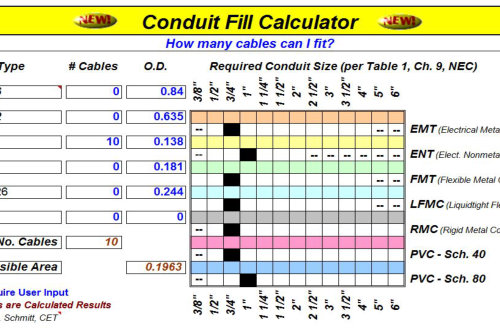 Nec pipe fill table acpfoto nec conduit fill chart saveenlarge charming awg wire keyboard keysfo Gallery