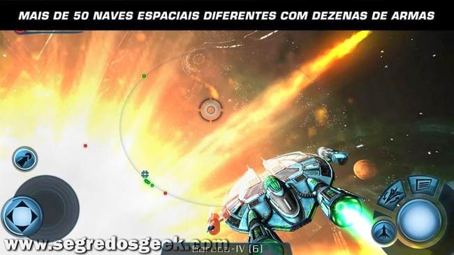 Galaxy on Fire 2 HD para Android gratuito.