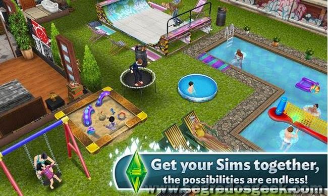The Sims FreePlay para Android gratuito.