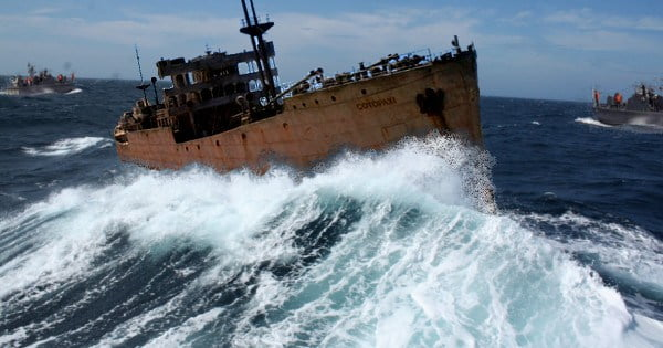 El Triangulo de las Bermudas el Barco SS Cotopaxi reaparece