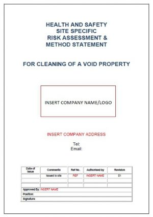 Risk Assessment  Method Statement for Installation of Steel - method of statement