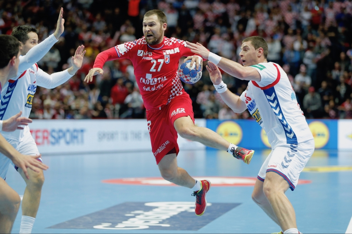 Ehf Euro 2018 Day 1 Croatia Heavily Beats Serbia