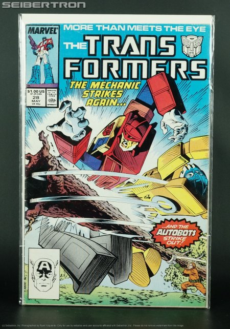 1987 Marvel Comics