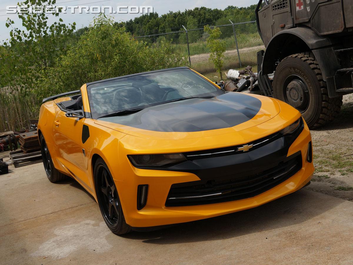 Car Transformer Live Wallpaper Tf5 The Last Knight Bumblebee Chevrolet Camaro 6th