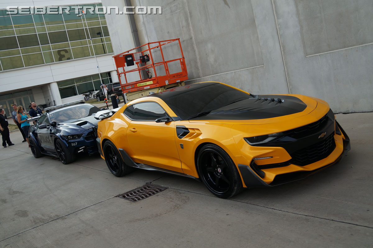 Police Cop Car Live Wallpaper Tf5 The Last Knight Bumblebee Chevrolet Camaro 6th