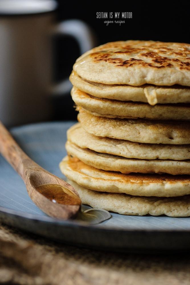 pancakes made with organic baking powder #baking #bakingpowdertest
