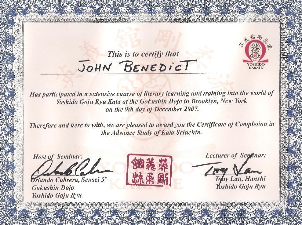 Martial Arts Event Winner Certificate Template Free Martial Arts