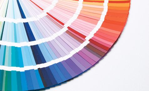 Farblehre und Farbwirkung selbstde - farbmuster wandfarbe