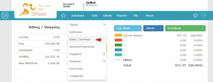 SelBuk - Point of Sale, Sales, Inventory, Price List, Billing