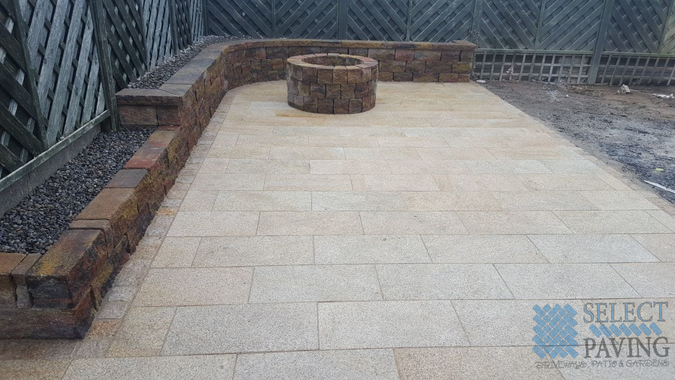 Granite Patio Completed In Belgard Tallaght Select Paving