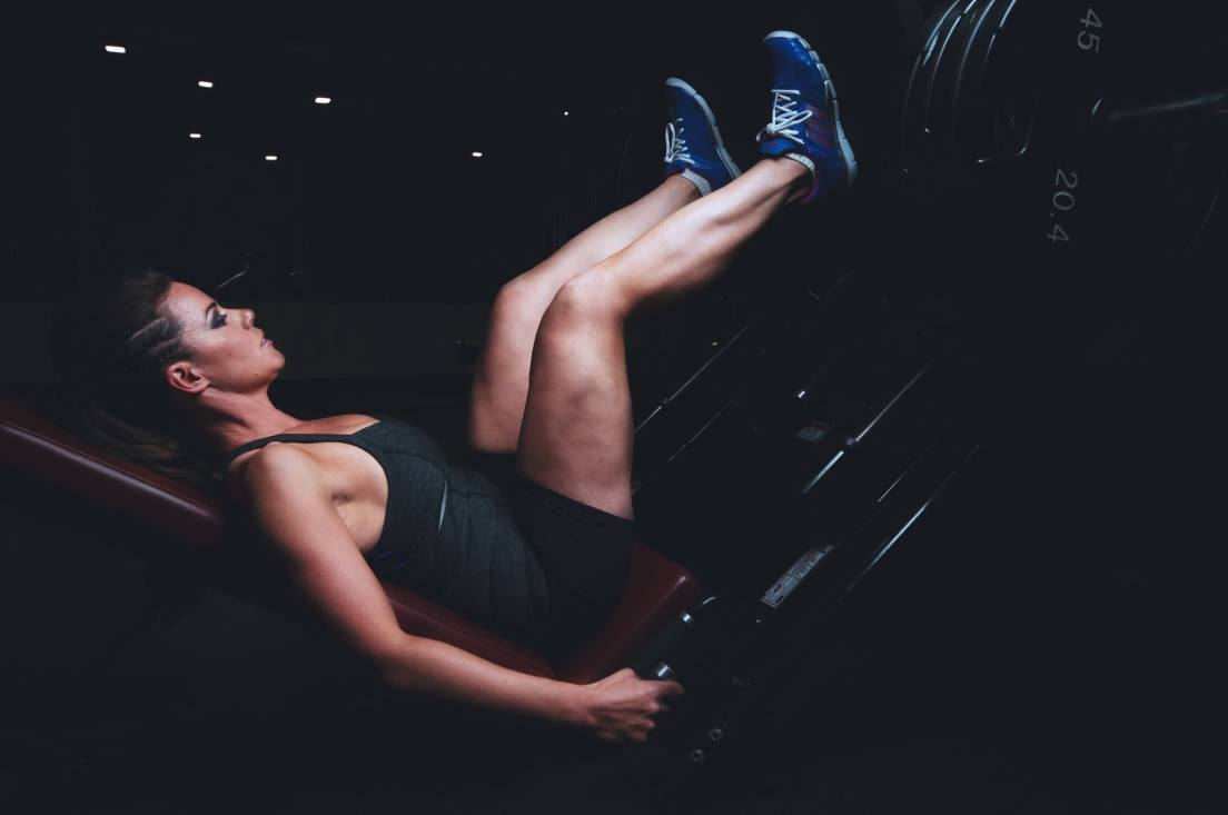 woman, working out, ecersise