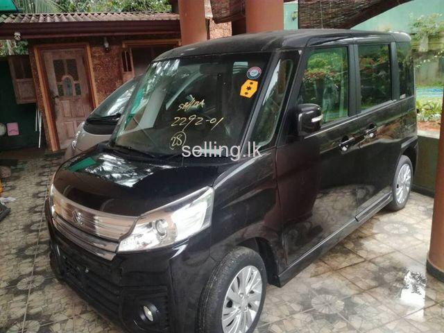 Suzuki Specia Custom 2015 Brand New Dark Brown Piliyandala