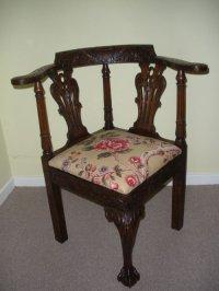 Corner Chairs Antique | Antique Furniture