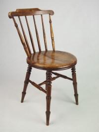 Set 4 Antique Pine Kitchen Chairs | 267710 ...