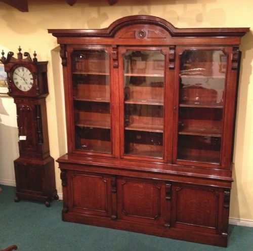 Large Antique Library Bookcase 239311 Sellingantiques