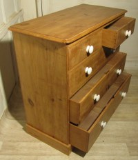 Victorian Rustic Pine Chest Of Drawers   247241 ...