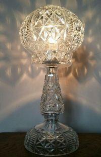 C1920 Cut Crystal Mushroom Table Lamp | 397285 ...
