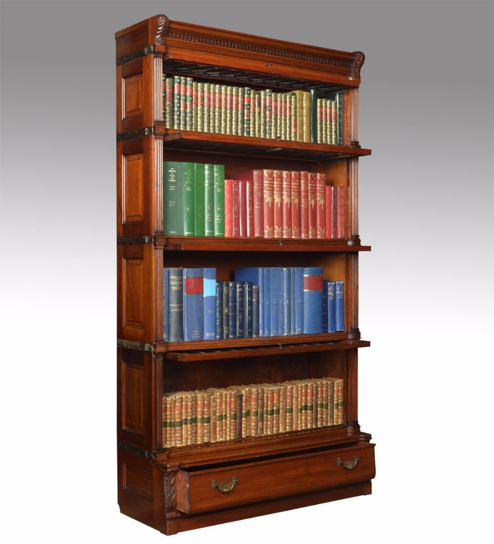 Mahogany Globe Wernicke Sectional Bookcase 452293