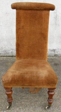 Victorian Prayer Chair For Re-upholstery | 143538 ...