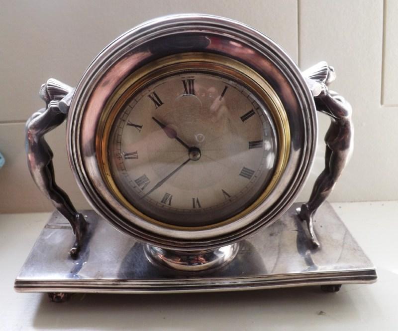 Large Of Art Deco Clock