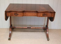 Mahogany Drop Leaf Sofa Table   431935   Sellingantiques.co.uk