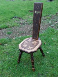 Victorian Floral Carved Welsh Spinning Chair | 153572 ...