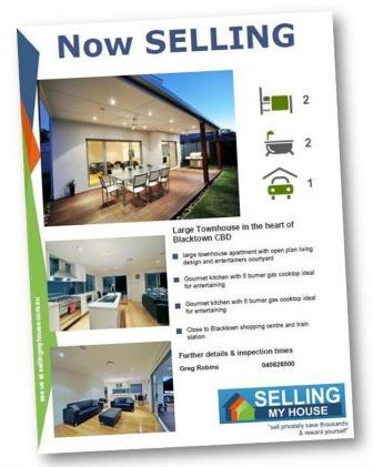 Selling Your House Advertise You Property with No Commission