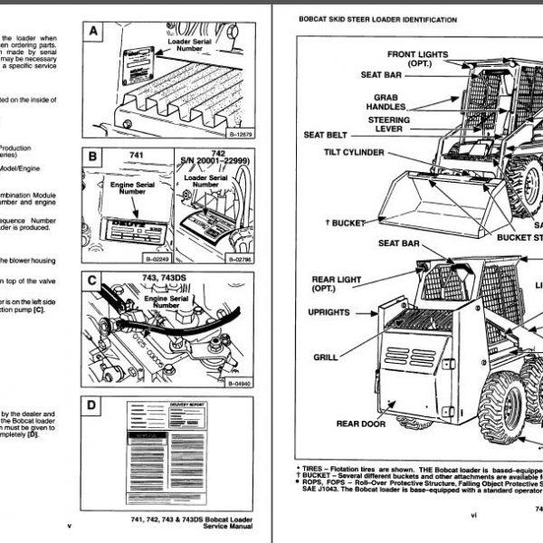 742b bobcat wiring diagram