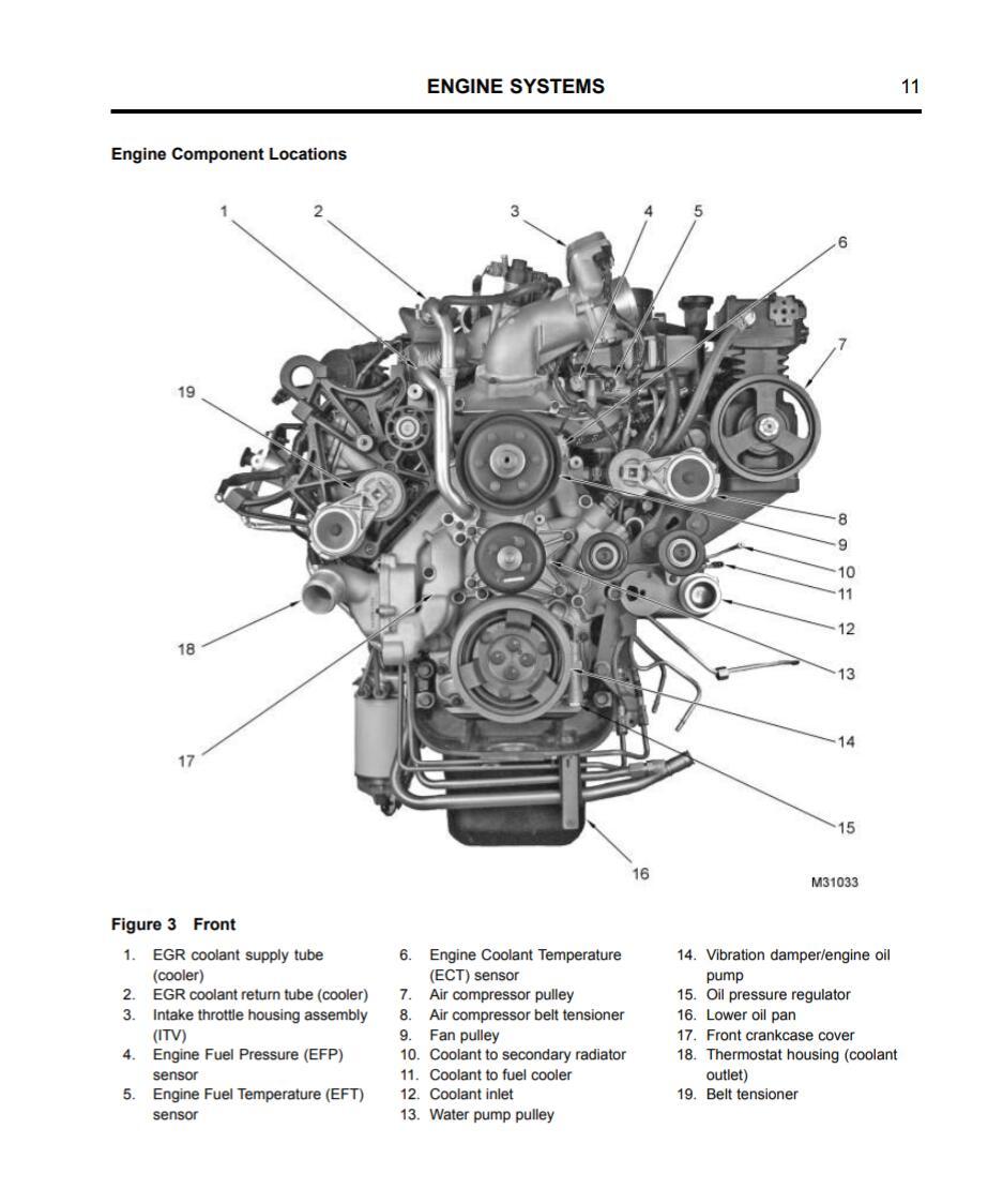 navistar engine diagram
