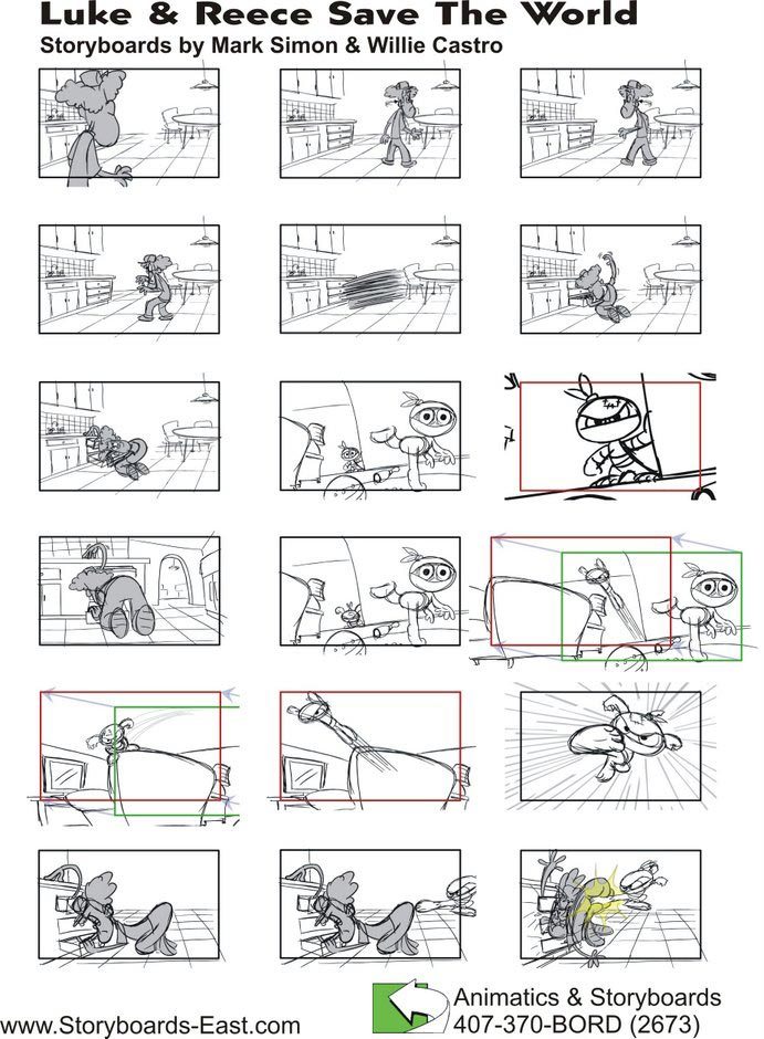 Storyboards Sell Your TV Concept Now - what is storyboard