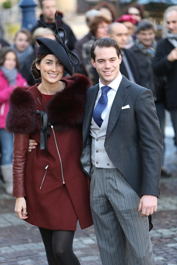 Felix de Luxemburgo y su novia, Claire Lademacher