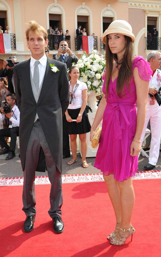 En la boda de Alberto de Mónaco