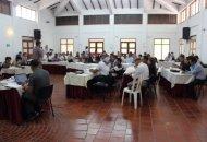 Sesenta dirigentes campesinos participaron en la asamblea de Anzorc. Foto Jorge Acuña, Agencia Prensa Rural.