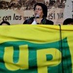 La principal figura de la UP en la actualidad es Aída Avella.