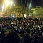 Asamblea en el Park Way de Bogotá.