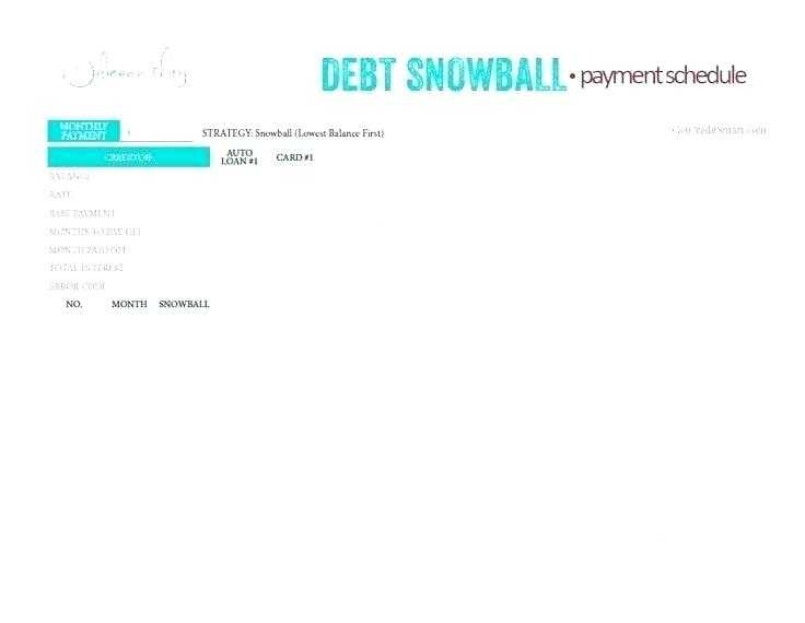dave ramsey debt snowball sheets - Nisatasj-plus