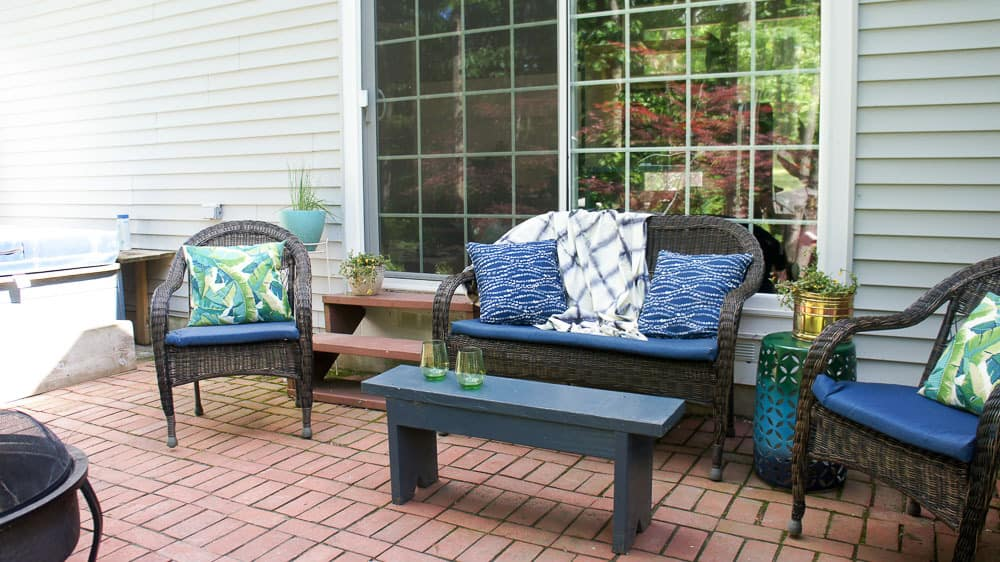 How To Add Colorful Patio Decor For The Summertime