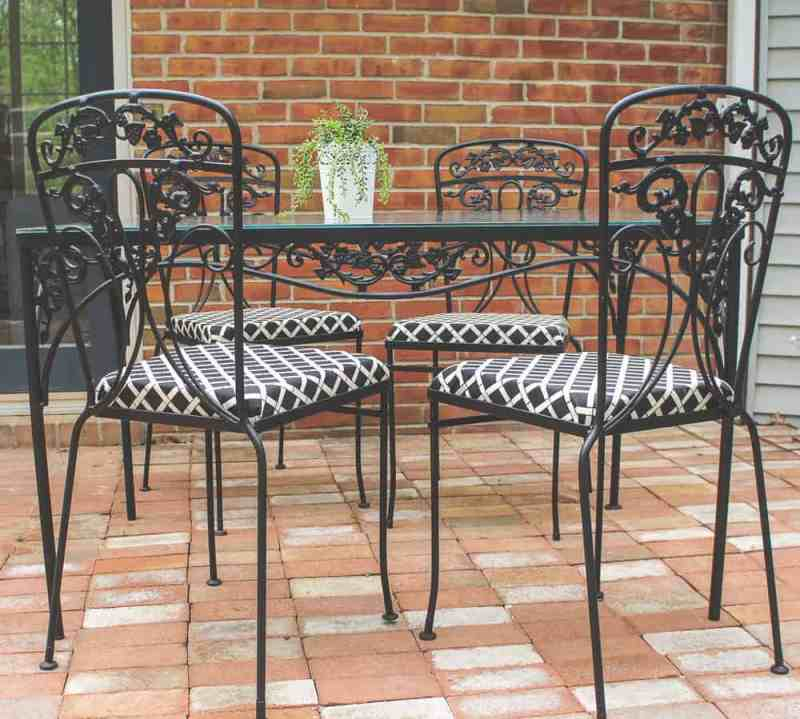 Large Of Wrought Iron Furniture