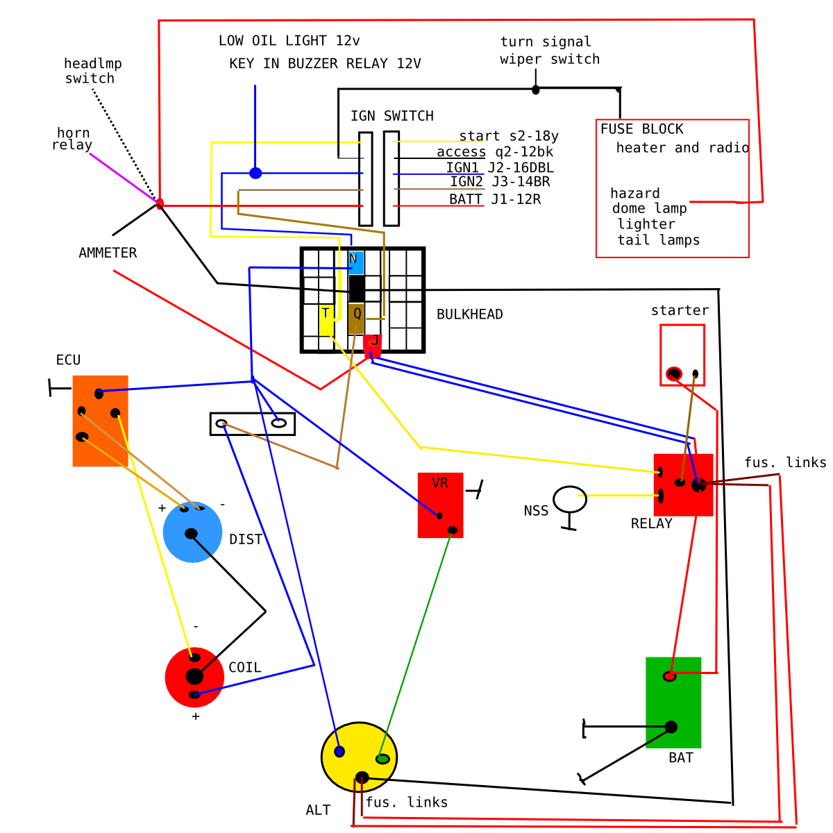 adding a relay for the ignition circuit