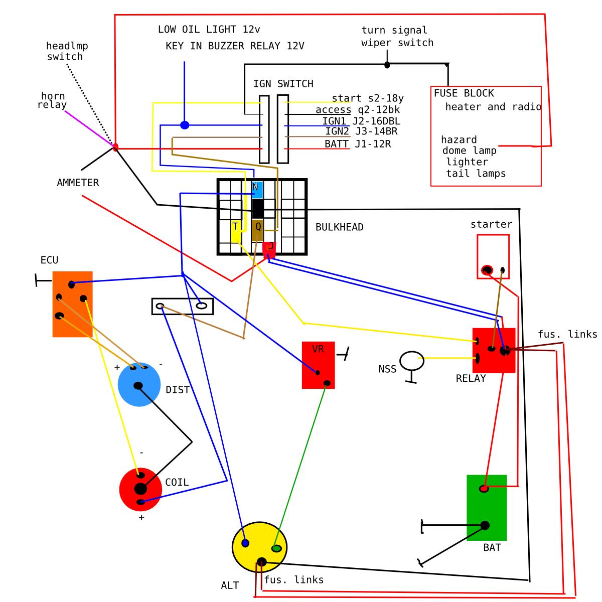 1972 Duster Wiring Diagram
