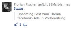 facebook Ads - Sponsored Posts 2
