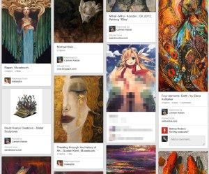 Pinterest Board Beispiel