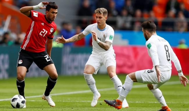 resume match uruguay egypte