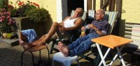 Senioren im Ruhestand