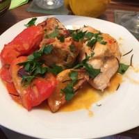 Und nach nur 3 1/2 Stunden... Sizilianisches Hähnchen! - via Instagram