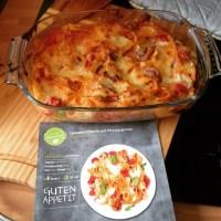Endlich Zeit zum Kochen, heute gibt's lecker Lasagne-Pfanne. #foodporn #hellofresh - via Instagram