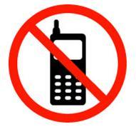 No al teléfono móvil