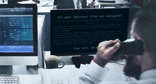 encrypted- ransomware virus